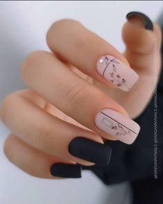 Polygel Nails, Chic Nails, Stylish Nails, Nude Nails, Gorgeous Nails, Perfect Nails, Pretty Nails, Nail Tip Designs, Cute Nail Art Designs