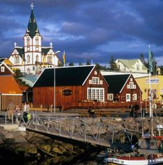 Nestled on the eastern shores of Skjálfandi bay, the small town of Húsavík has carved out a reputation as the whale watching capital of Europe