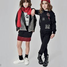 Sweat fantaisie en molleton MSGM pour fille | Melijoe.com