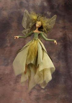 Art of Wendy Froud: Lovely green fairy