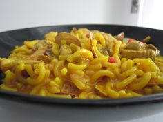 Fidegua con thermomix Food N, Food And Drink, My Favorite Food, Favorite Recipes, Spanish Dishes, Crazy Cakes, Macaroni And Cheese, Food To Make, Cooking Recipes