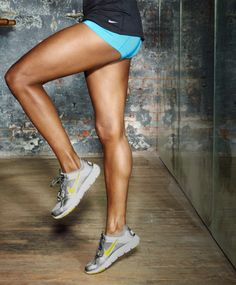 Check out the Exercise of the Week ... You'll burn more calories and tone all your leg muscles in 1 move!