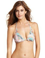 Roxy Juniors Dream About Binded Tiki Triangle Top