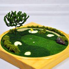 Golf lovers wanted A Miniature Terrarium by agardentotreasure