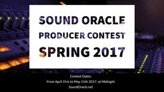 #SoundOracle #OracleProducerChallenge is back again - Let's go #Producers : https://gleam.io/VWgtR/sound-oracle-producer-contest-spring-2017