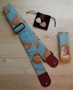 Guitar Strap and Accessories - OCCASIONS AND HOLIDAYS - Knitting, sewing, crochet, tutorials, children crafts, papercraft, jewlery, needlework, swaps, cooking and so much more on Craftster.org