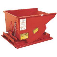 Heavy Duty Self-Dumping Hopper, 1 Cu./Yd., 6000 lb. Capacity