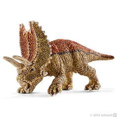 Pentaceratops, mini (besøksgave fra mormor & bestefar påsken 2017 på Vardebakken)