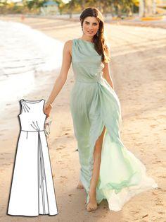 Beachside Beauty: 6 New Dress Patterns – Sewing Blog | BurdaStyle.com