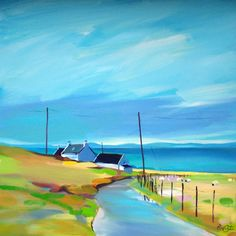 """Room With A Northern View 20""""x20"""" £140"""