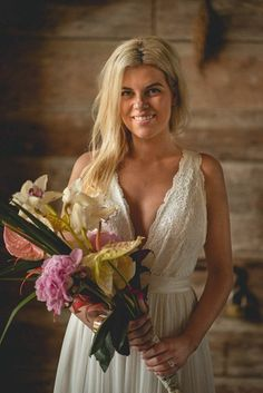 Violet and yellow pageant bridal bouquet  photo by Studio 22 Photography