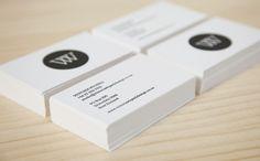 Letterpress Business Cards. victoriawigzelldesign.co.nz