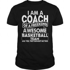Make this awesome proud Coach: Proud Basketball Coach LIMITED EDITION as a great gift Shirts T-Shirts for Coaches