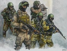 Soviet and Russian armed forces Military Gear, Military Weapons, Military History, Mini Craque, Tactical Armor, Military Drawings, Military Special Forces, Futuristic Art, Modern Warfare