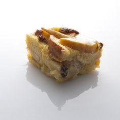 Receita de Pudim de pão, maçã reineta e corintos