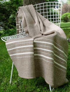 Hand Woven Merino Wool Baby Blanket by NordtFamilyFarm on Etsy Wool Baby Blanket, Merino Wool Blanket, Wooden Hand, Natural Brown, Brown And Grey, Hand Weaving, Pure Products, Etsy, July 25