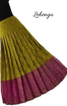 Super Dress Summer Long Patterns Ideas Source by Blouses Kids Blouse Designs, Simple Blouse Designs, Designs For Dresses, Half Saree Designs, Saree Blouse Designs, Lehenga Designs, Kids Lehenga Choli, Lehenga Blouse, Anarkali