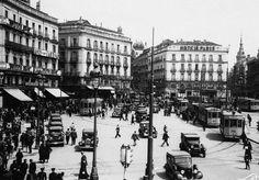 Puerta del Sol. Madrid 1935