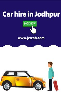JCR Cab and Car Rental is a taxi and car rental service located in Jodhpur and Jaisalmer. Car hire in Jodhpur. For any car and taxi hire services, from renting a small car, luxury cars, airport taxi and full day taxi. Contact NOW for booking. Car Rental Company, Jaisalmer, Jodhpur, Small Cars, Renting, Taxi, Luxury Cars, Fancy Cars, Miniature Cars