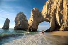 Cabo San Lucas, Mexico at Playa Del Amor( Lover's Beach). Cabo is Definiely one my Favorite, so been there few times !