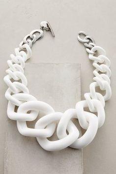 Anthropologie Crescendo Link Necklace #anthroregistry