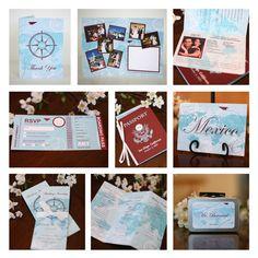 Custom Passport Destination Wedding by invitationparlour on Etsy, $11.00
