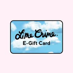 Lime crime gift cards