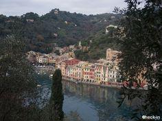 Scorcio della baia di Portofino dal Castello di Brown, #Liguria