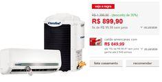 Ar Condicionado Split Comfee Hi Wall 12.000 Btus Frio - 220V << R$ 89990 em 9 vezes >>