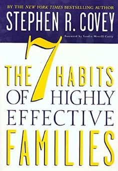 Herunterladen oder Online Lesen The 7 Habits of Highly Effective Families Kostenlos Buch PDF/ePub - Stephen R. Covey, The 7 Habits of Highly Effective Families is Stephen R. Covey's newly revised and updated paperback edition of the New. Highly Effective People, Free Reading, Reading Lists, Got Books, Books To Read, New York Times, Believe, Leader In Me, Family Therapy