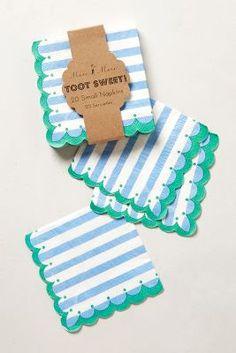 cutest paper napkins ever!!