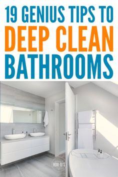 149 best bathroom cleaning hacks images in 2019 bathroom cleaning rh pinterest com