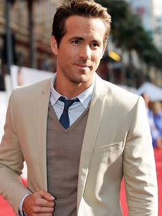 Ryan Reynolds...so very cute... loved him in the Proposal