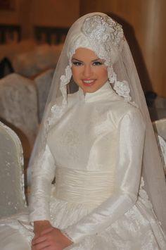 e2e8ddd3d9 Turkish Brides ☪. H. Abdelaal · Fashion ~ Hijab - bride