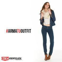No importa si hace frío o calor, esta chamara es perfecta en cualquier clima. #OggiJeans #Mexico #MyStyle #Moda #SienteElAzul #StreetStyle #DailyOutfit #OOTD #Denim #Jeans #Mezclilla #ArmaTuOutfit
