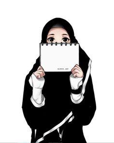 Hijabi Girl, Girl Hijab, Muslim Girls, Muslim Couples, Haikyuu Cosplay, Muslim Pictures, Hijab Drawing, Islamic Cartoon, Anime Muslim