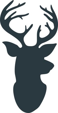 This Deer Friend Christmas Gift is such a fun and simple gift to give your friends and neighbors this holiday season. Reindeer Silhouette, Animal Silhouette, Silhouette Art, Silhouette Cameo Projects, Silhouette Cameo Cards, Hunting Cabin Decor, Hunting Gifts, Raindeer Drawing, Hirsch Silhouette