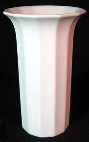 Polygon Vase designed by Tapio Wirkkala First made in 1973 15 cm Platinum rim version Milk Glass, Vase, Design, Vases, Jars