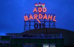 Seattle's neon signs pierce the winter darkness - seattlepi.com