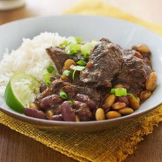 Slow-Cooker Brisket BBQ Chili from familycircle.com #myplate #slowcooker #beef