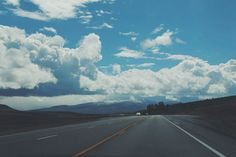 #highway #cloud #vsco