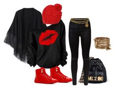"""""""Winter 2."""" by szunda on Polyvore featuring Moschino, 7 For All Mankind, Relaxfeel, ALDO and Chanel"""
