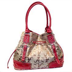 University of Alabama Crimson Tide Ladies Handbag Tote Purse NWT