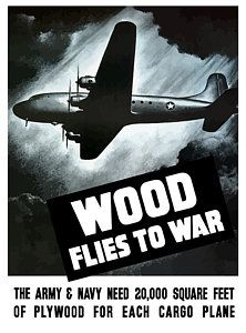 Painting - Wood Flies To War by War Is Hell Store