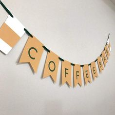 Coffee Shop Themed Banner