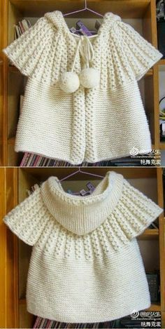 How to knitting hooded short sleeve