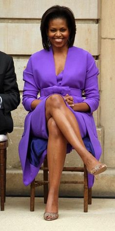 Thank You - The Obama Family Michelle Obama Fashion, Michelle And Barack Obama, Joe Biden, Durham, Beautiful Black Women, Beautiful People, Beautiful Things, Barack Obama Family, American First Ladies