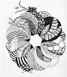 Efie goes Zentangle: september 2012