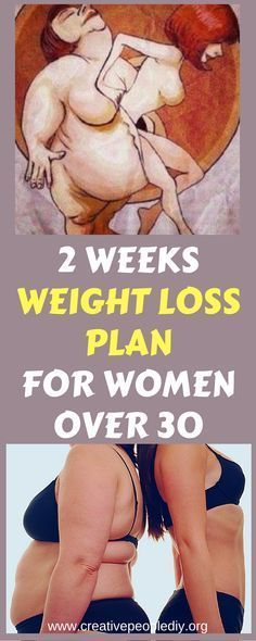 2 WEEKS WEIGHT LOSS PLAN FOR WOMEN OVER 30