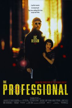 LÉON: THE PROFESSIONAL // French thriller by Luc Besson, 1994.